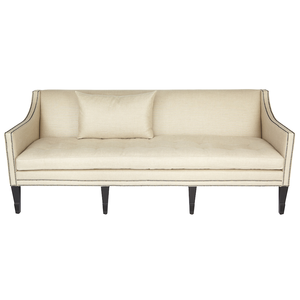 George sofa modern classic 3 seater sofa with contemporary for Modern classic furniture