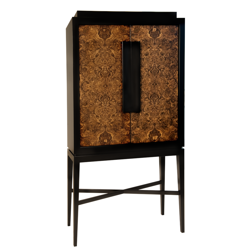 Madison luxury lifestyle cocktail cabinet with fully for Lifestyle furniture