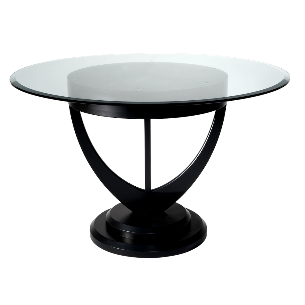 Dining Room Tables Black Glass