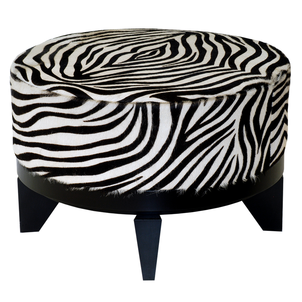 zebra-wedge-ottoman